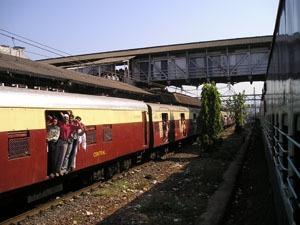 The train from Mumbai