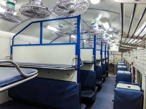 indian railway sleeper